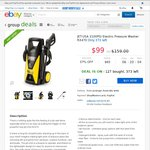 JET-USA 3100PSI Electric Pressure Washer RX470 - $99 @ Edisons eBay