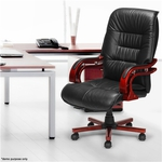 Genuine Leather High Back Office Chair $199.95 (Was: $279.95) + Free Shipping @ CrazySales