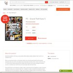 Grand Theft Auto V PC Retail AU $65.55 ($59 Members) @ Co-Op Shop [Free Delivery]
