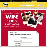 WIN 1 of 3 E-Gift Cards | Simply Tell Santa What Your Pet Wants for Christmas