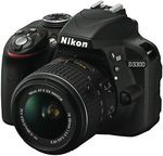 Nikon D3300 DSLR with Lens Kit $268.40 after $100 Cashback @ The Good Guys eBay
