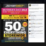 Five Star Factory Direct - 50% off Storewide Kitchenware [Footscray, Melb]
