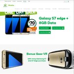 Samsung Galaxy S7 Edge 32GB $70/Month 8GB Unlimited SMS/Calls 24 Months with Woolworths + $100 Woolworths Dollars, Ends Tonight
