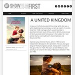 """Free Tickets to Screening of """"A United Kingdom"""" @ ShowFilmFirst - All States (Except NT/ACT)/Various Dates"""