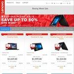 Lenovo Sitewide Sale: E460 i7 $888, E470 i7 $979, Yoga 460 i7 $1324, X1 Yoga i7 $1999, IdeaPad 300 i7 $899 + More