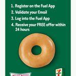 Free Krispy Kreme Original Glazed Donut for New Fuel App Accounts @ 7-Eleven [App Required]