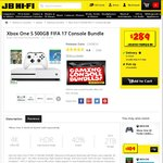 Xbox One S 500GB with FIFA 17 + 1 Month EA Access ($298.95) with Delivery @ JB Hi-Fi