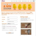 Win 1 of 16 $100 Prepaid EFTPOS Cards Daily and/or a $5,000 Prepaid EFTPOS Card from EFTPOS Australia