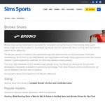 Brooks Addiction 12 Running Shoe - Wide & Extra Wide  $169.95 (RRP $220) @ Sims Sports