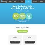 Belong ADSL2+ /NBN $50 off First Month