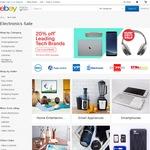 20% off Selected Sellers @ eBay