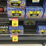 UP & GO 6 Pack for $3.99 at Pyrmont NSW SUPA IGA + $10 Rebel Voucher