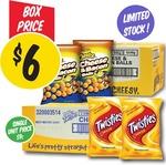 12x Cheetos Cheese and Bacon 90g Packs / 20x Twisties 90g - $6 @ NQR (VIC)
