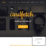 FREE Digital Business Card + Mobile App Wallet OR 50% off Premium Account $2.5/Month (Was $5) @ CardFetch