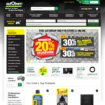 20% off Storewide with 30% off Penrite, Battery Chargers & Jump Starters @ Autobarn