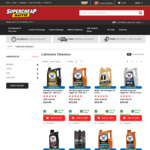 50% off Selected Lubricants Online @ SuperCheap Auto