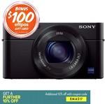 Sony Cyber-Shot DSC-RX100 III Digital Camera $654.97 after Coupon Code + $100 EFTPOS Card Via Redemption @ Ryda