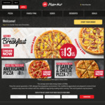 50% off One Large Pizza @ Pizza Hut