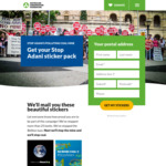 Stop Adani Sticker Pack from ACF (Free, Requires Registration)