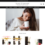 35% Off Entire Range of Candles & Diffusers @ Burns and Bennett. Products From ~$32 + Free Shipping