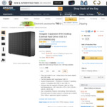 8TB Seagate Expansion Desktop External HDD USB 3.0 $162.46USD Shipped (~$208AUD) Delivered @ Amazon US