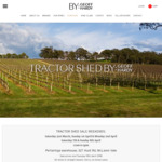 Tractor Shed Wine Sale: 15 Wines on Sale from $65/Doz + Free Shipping