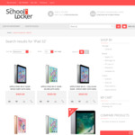 iPad 5th Gen Clearance from $427 & 10% off All Diadora Shoes @ The School Locker