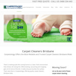 [QLD] Carpet Cleaning from $55, Pest Control from $69 @ Carpestology (Brisbane CBD & Bayside)