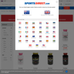 Everlast Sports Nutrition up to 70% (from £2.50 ~ AUD $4.50) + Delivery £0.99 (~ AUD $1.80) @ SportsDirect