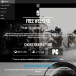 [PC, PS4, XB1] Tom Clancy's Rainbow Six Siege Free Weekend May 18th - 21st + 50% OFF Most Editions (Excluding Starter)