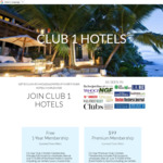 Free 1-Year Luxury Hotel/Travel Club Membership + Business Traveler Emagazine via Club 1 Hotels