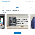 Win a Samsung Family Hub Fridge Worth $5,499 from iimage Technical Services Pty Ltd