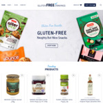 $10 off Orders over $50 with Coupon & Free Shipping for Orders over $75 @ Gluten Free Cravings