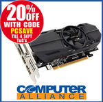 Gigabyte GTX1050 Ti 4GB OC Low Profile Video Card $223.20 + $15 Delivery (Free with eBay Plus) @ Computer Alliance eBay