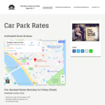 [QLD] 50% off Monday to Friday Peak Rates. Pay No More than $12.50 Per Day @ Myer Centre Car Park, Brisbane