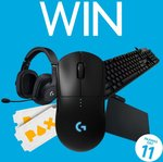 Win a Logitech Peripheral Pack & PAX Australia Badges Worth $903.80 from Logitech