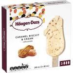 Häagen Dazs Caramel Biscuit & Cream, Salted Caramel and Peanut Butter Crunch Ice Cream 3 Pack - $5 @ Woolworths