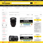 Sigma AF 50mm F1.4 DG HSM Art All Mounts - $849.96 + Delivery (Free ClubTed or C&C) @ Ted's cameras