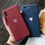 Simple Couple Love Heart Soft Case for iPhone XS Max USD $3.99 (AUD $5.21, Was AUD $13) Shipping Required @ ChicLeader