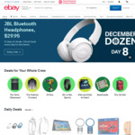 10% off Electronics | 15% off Other Categories ($0 Min Spend, US $75 Max Discount) @ eBay US