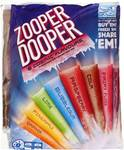 ½ Price Zooper Dooper 24 Pack $2.75 @ Big W