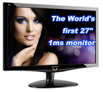 """Viewsonic VX2739WM 27"""" Full HD Screen 1MS Response Time $386.1 after 10% Coupon Code"""