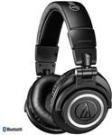 Audio Technica ATH-M50xBT Studio Headphones w/ Bluetooth (Black) $299 Delivered @ Store DJ