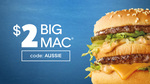 $5.50 off Your McDonald's Order (Excludes Delivery Fee) @ Uber Eats