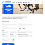 Win a Pair of Adrenaline GTS 19 Runners Worth $219.95 from Brooks
