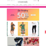 50% off Sitewide @ Crossroads