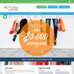 Win a $5,000 Shopping Spree or 1 of 8 $500 VISA Gift Cards from Certegy