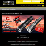 Klarus Flash Sale: 25% off 2000 Lumen XT11GT $89.96 and 3200 Lumen XT11X $93.71 @ Liteshop.com.au