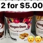 [VIC] Häagen-Dazs Ice Cream 457ml $3, 2 for $5, 8 for $19 @ Savemore Springvale