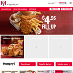 KFC KSP (Kentucky Snack Pack) - $4.95 [Secret Menu]